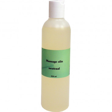Massageolie 250ml Neutraal - www.ehbo-centrum.nl