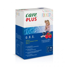 Care Plus ORS kind framboos 10 Stuks
