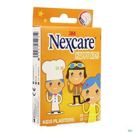Nexcare Happy Kinds Wondpleister Strips 20 Stuks -