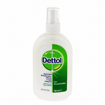 Dettol Wondspray 100ml - www.ehbo-centrum.nl