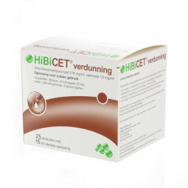 Hibicet Bottlepack 25 x 15 ml