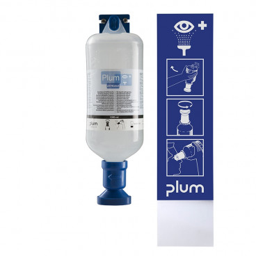 PLUM Wandstation 1 x 1000ml Ph Neutraal - www.ehbo-centrum.nl