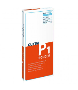Curea P1 SuperCore® wondverband met border 15 x 25 cm steriel
