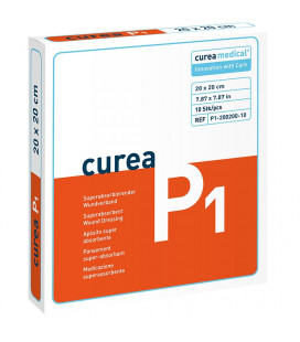 Curea P1 SuperCore wondverband 20 x 20 cm steriel 10St. -