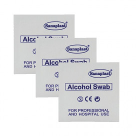 Alcoholdeppers 4 x 6cm 1ST