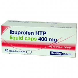 Ibuprofen HTP liquid caps 400mg 20 caps